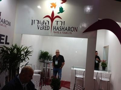 Yossi Hayat at our stand