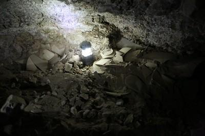newest discovery of Dead Sea scroll cave